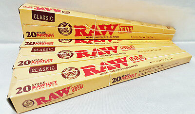 4 Raw Rawket Launcher 20 Stage 20 Cones Per Pack Pre Rolled Supernatural & More
