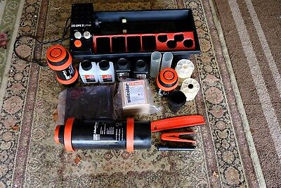 JOBO CPE-2 Plus Processor Tanks Reels Containers Unicolor C-41 Kit Tested Works