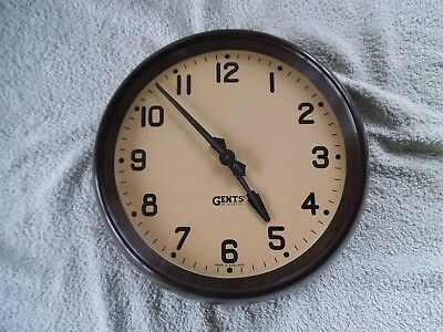 "Gents  Slave  Dial Clock  -  With  9""  Dial"