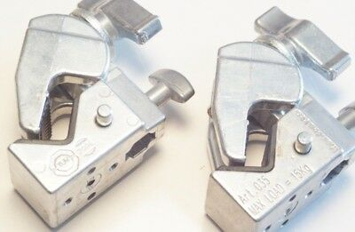 2x Manfrotto Art. Clamp Kit Art. 035 Super Clamp in Chrome (Clamp set of 2)