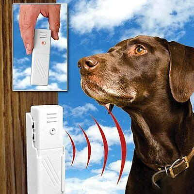 BARK BUSTER! Ultrasonic Dog Bark Stopper Stop Barking Dogs off Annoying Barking