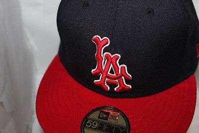e2f6b3da190 LOS ANGELES ANGELS New Era MLB Cooperstown Collection 2 Tone 59Fifty ...