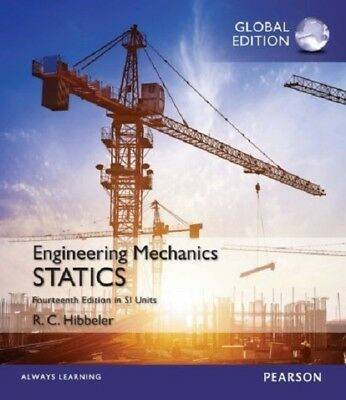 New engineering mechanics statics 14e russell c hibbeler 14th si engineering mechanics statics 14th by russell c hibbeler global edition 14e fandeluxe Image collections