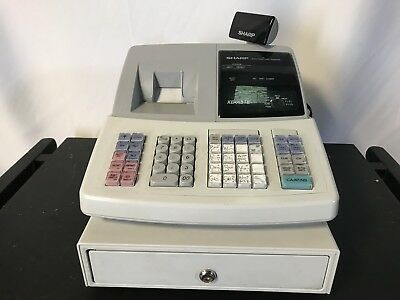 Sharp Electronic Cash Register Xe-A21S Used