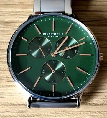 Kc14946009Neuwertig New Getragen 5x York Kenneth Cole Chronograph WD9HIYeE2