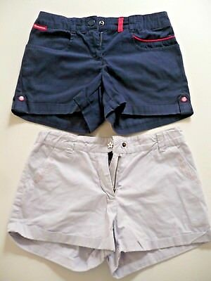 lot 2 shorts SERGENT MAJOR & DECLATLON 10  ans Fille court été