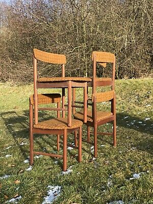 4 Vintage Teak Dining Chairs. GPlan McIntosh