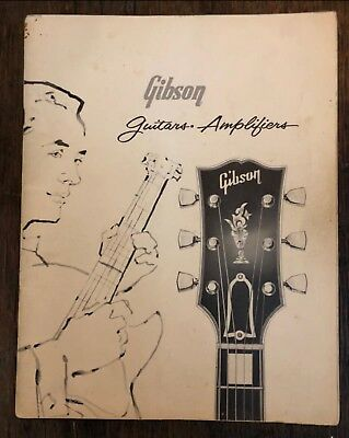 1960 Gibson Guitars and Amplifiers Catalog