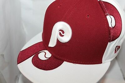 check out e4496 b7265 Philadelphia Phillies New Era MLB Cooperstown Collection Graphic 59Fifty,Hat