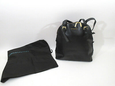 0f13ff034f8e Vtg Cynthia Rowley Textured Black Leather Med-Large 13