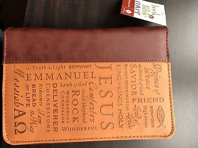 Extra Large Bible zipped carry case brand new with label