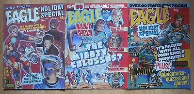 Eagle Holiday Special Issues 1 - 3: Good Condition
