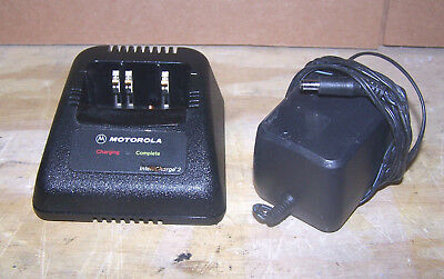 Motorola Intellicharge 2, RPX4747A  Charger and Power Supply