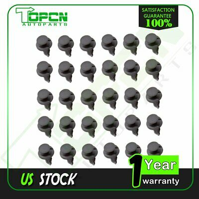 30 Pack GM Saturn Wheel Well Push Type Retainer Clips 21077123 USA Seller