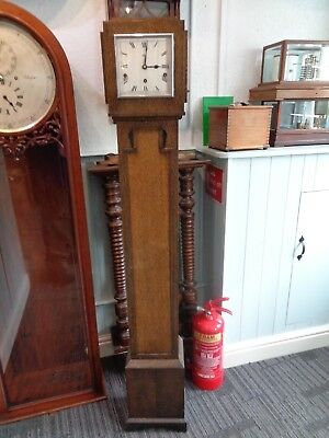 Longcase Clock Garrard 8 Day Westminster Chime grandmother case movement parts