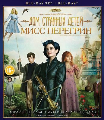 Miss Peregrine's Home for Peculiar Children (Blu-ray 3D+2D) Eng,Rus,Fre,Por,Spa