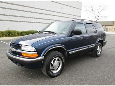 Blazer LT 2000 Chevrolet Blazer LT 4 Door 4X4 Super Clean SUV Sharp Color Great Buy