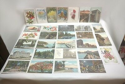 Lot of Vintage Postcards from 1900's- 1920's, Lot #4