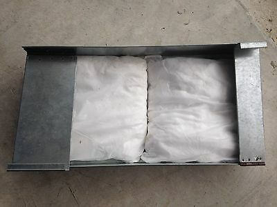 Restaurant Exhaust Fan Grease Pillow Containment System  Two Cartidge Pillows