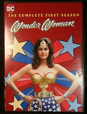 Wonder Woman - The Complete First Season (DVD, 2017, 3-Disc Set) Factory sealed