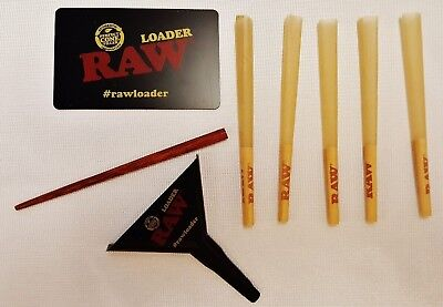 RAW Lean Loader with 5 Lean Prerolled CONES and Free Shipping