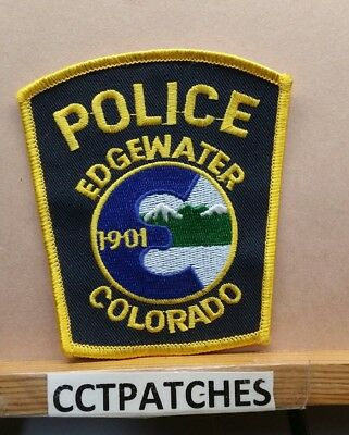 Edgewater, Colorado Police Shoulder Patch Co