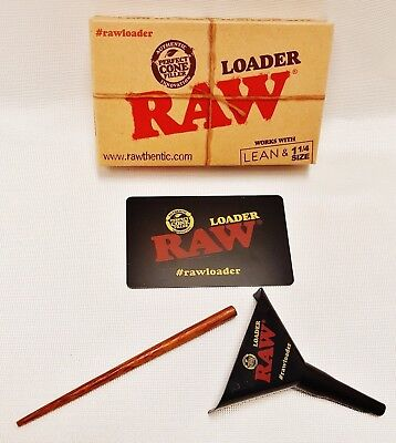 RAW Rolling Papers Lean Loader 1 1/4 or Lean Size With Free Shipping