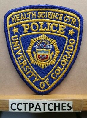 University Of Colorado Health Science Center Police Shoulder Patch Co