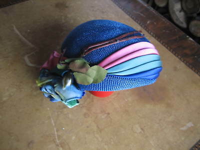 Vintage 1930's 40's Ladies Hat Made By Fisk Chicago