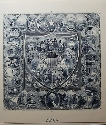 Bureau Of Engraving And Printing U.S lot. Magnificent!!!