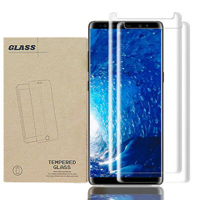 Tempered Glass Case Friendly Screen Protector For Samsung Galaxy S9 Plus+ LOT