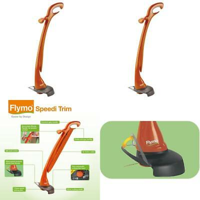 Flymo Speedi Trim Electric Grass Trimmer 300W Cable 12m Long Cutting Width 25cm