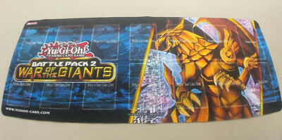 Yu-Gi-Oh@ PLAYMAT Battle Pack 2 War of the Giants - The Winged Dragon of Ra Mat