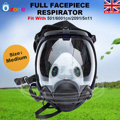 Full Face Facepiece 3M 6800 Emergency Gas Mask Respirator Painting Spraying New