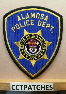 Alamosa, Colorado Police Shoulder Patch Co