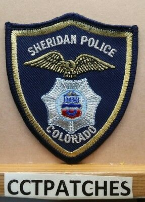 Sheridan, Colorado Police Shoulder Patch Co