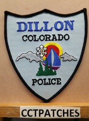 Dillon, Colorado Police Shoulder Patch Co