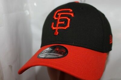 SAN FRANCISCO GIANTS MLB Flex Fitted New Era 39Thirty Cap Hat size M ... 106ac90bcf42