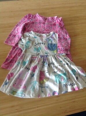 Next And Mothercare Dresses Girls 9-12 Months