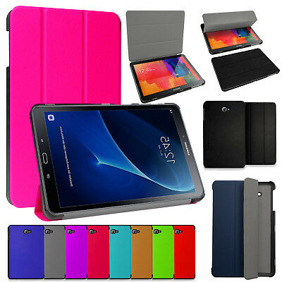 """Flip Case Cover Smart Magnetic For Tab Samsung Galaxy A6 10.1"""" Inch T580/T585"""