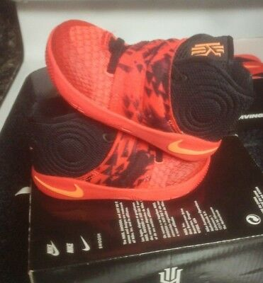 newest 0b340 f85ec NIKE KYRIE 2 Inferno Bright Crimson Toddler Size 6c Irving 1 827281 680  jordan 4