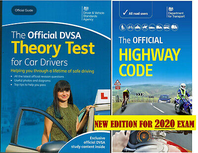 Driving Theory Test Car Drivers Book 2020 and Latest Highway Code book*Hw+ThryBk