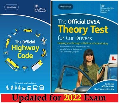 Driving Theory Test Car Drivers Book for 2019 & Latest Highway Code*ThryBk+Hw