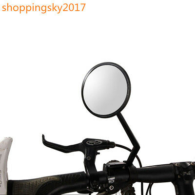 "Durable Motorcycle Motor Round  3"" Round 7/8"" Handlebar End Mirrors Rearview BM1"