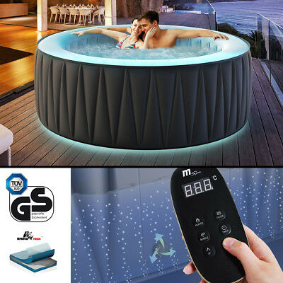 Miweba MSPA aufblasbar Whirlpool Aurora D-AU06 Outdoor Indoor Pool Spa LED