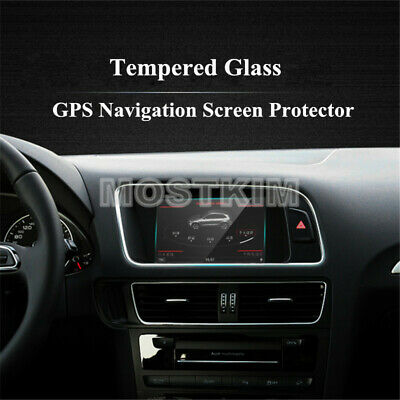 6.5 Inch Tempered Glass GPS Navigation Screen Protector For Audi Q3 Q5 2009-2015