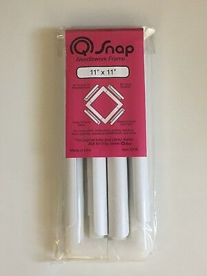 """11"""" x 11"""" Q-Snap Cross Stitch/Embroidery Frame"""