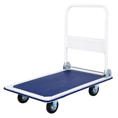 Top Quality Foldable 660lbs Four Wheel Cart Dolly 35.4 Inch x 23.6 Inch