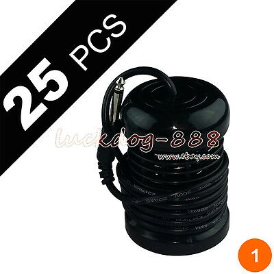 25 Round Black Ionic Cleanse Detox Foot Spa Arrays by Better Health Ions Gift