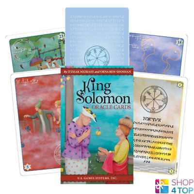 King Solomon Oracle Cards Deck Esoteric Telling Us Games Systems New